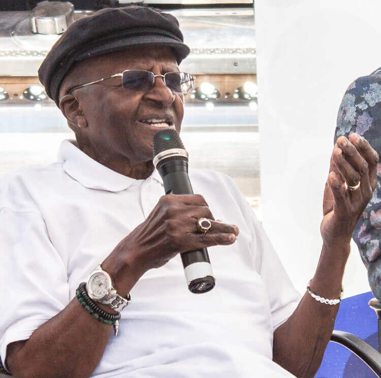 Bishop Desmond Tutu   Container Rental & Sales