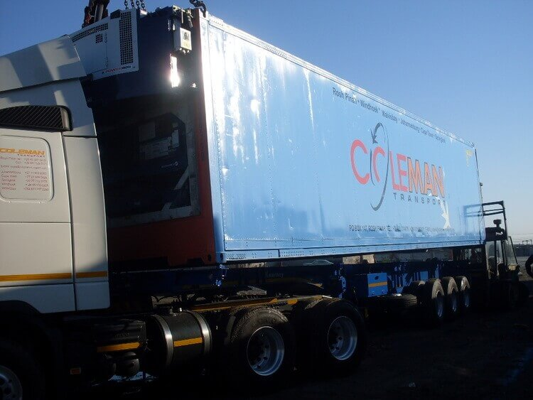 Coleman Transport Truck Container | Container Rental & Sales