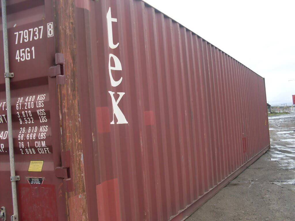 Shipping Container Sales