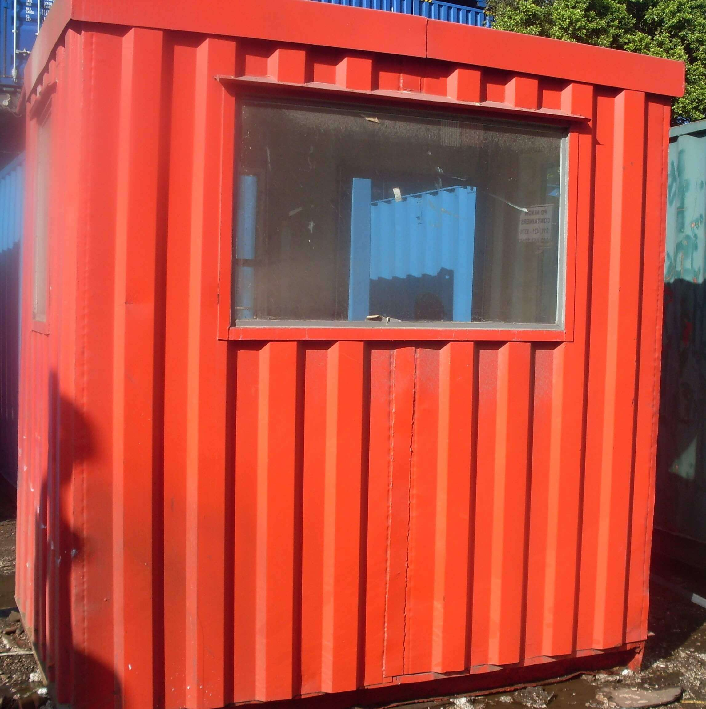 Small Red Shipping Container | Container Rental & Sales